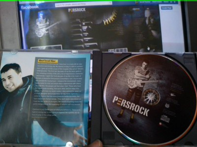 pers rock cd  album fan farzad alipour