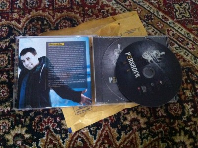 persrock cd  album fan farzad alipour