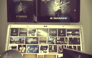 persrock cd album fan farzad alipour