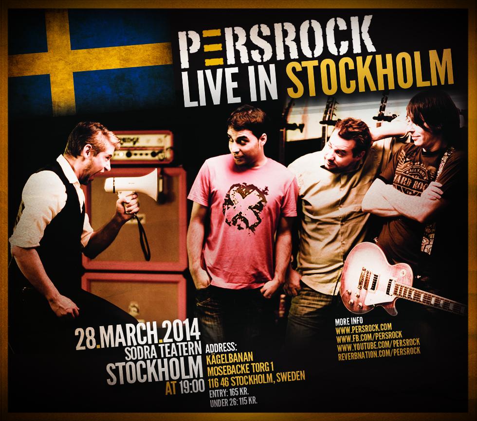 persrock stockholm farzad alipur